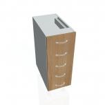 Kuchyňská skříňka spodní úzká zásuvková KUDD 30 Z5