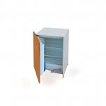 Kuchyňská spodní skříňka s vestavěnou lednicí levá KUDD 90 CHL