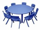 Dětský plastový kulatý stolek stůl 5710