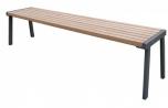 Lavička Simpl - lavičky bez opěrky
