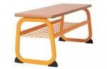 Šatní lavice oboustranná 100 cm