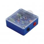 LED diody v držáku zapojené do Graetzova můstku