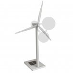 Model solární - větrné elektrárny
