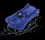 Mountain racer řízený bob modrý