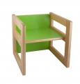 """Multifunkční prvek """"CUBE"""" jako židlička 15/22cm nebo stoleček - U24.001"""