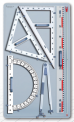 Nástěnná sada tabulového nářadí TOOLBOARD 4
