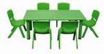 Dětský plastový obdélníkový stůl 122x61 cm 5707