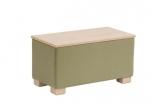 Obdélníkový čalouněný stolek Trio - TR1-