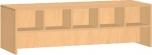 Oboustranná lavice s boxy pro deset  dětí 39x55x125 cm 0L970M