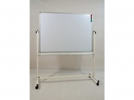 Oboustranná magnetická mobilní pojízdná tabule keramický povrch 120x90 cm