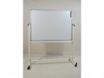 Oboustranná magnetická mobilní pojízdná tabule keramický povrch 150x90 cm