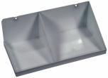 Odkládací polička kovová, držák fixů 32x12x16 cm (ŠxVxH)