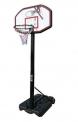 Panel na basket se stojanem venkovní nastavitelný 110x70 cm - 3208