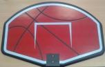 Panel na basket+koš+síťka 75x52 cm - 3073