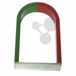 Podkovovitý magnet AlNiCo, 100 mm