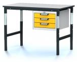 Pracovní (dílenský) stůl alsor Uni - alsor U12 K04