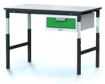 Pracovní (dílenský) stůl alsor Uni -  alsor U12 K01