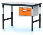 Pracovní (dílenský) stůl alsor Uni - alsor U12 K02