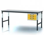 Pracovní (dílenský) stůl alsor Uni - alsor U20 K04