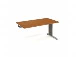 Pracovní stůl Flex FS 1600 R 160x75,5x80 cm (ŠxVxH) k řetězení