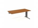 Pracovní stůl Flex FS 1800 R 180x75,5x80 cm (ŠxVxH) k řetězení