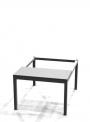 Předlavičky (podstavce) šatních skříní POD 60 S (pro modul 60 cm)