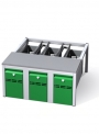 Předlavičky (podstavce) šatních skříní POD 75 S (pro modul 75 cm)