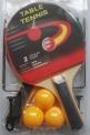 Raketa na stolní tenis SET SEDCO síťka - 4100