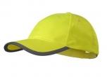 Reflexní kšiltovka - žlutá