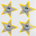 Reflexní samolepky - Hvězdička