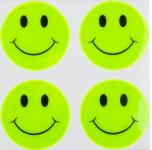 Reflexní samolepky - Smajlík žlutý
