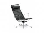 Relaxační křeslo (židle) Fly 715 -Bílá kůže