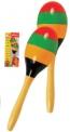 Dětský dřevěný hudební nástroj rumbakoule Bino 3786555