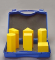 Sada 6 pravidelných hranolů v kufříku