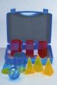 Sada 9 barevných modelů v kufříku