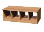Šatní lavice Helena, dvou až pětimístná, hloubka 50 cm 0L679