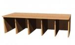 Šatní lavice Petra, dvou až pětimístná, hloubka 35 cm 0L736M