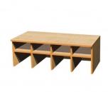 Šatní lavice Petra, dvou až pětimístná, hloubka 50 cm 02HL2736
