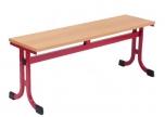 Šatní lavička plochooválová 100x35 cm