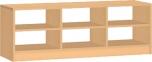 Sedací skříňka na boxy 45x45x120 cm 0L397M