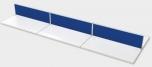 Sestava paravánů pro oddělení šest pracovišť TPA sestava 02 (480x42,5x4 cm)