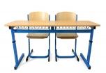 Set lavice NERO II NEW a židle PRIM
