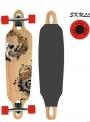 Skateboard LONGBOARD SKULL 38 - 23341