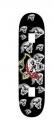 Skateboard UTOP SKULL RUS MAPLE 31x 8 - 0078