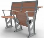 Sklopná sedačka (prostřední řady) Arena AR Series s pracovním stolkem