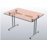 Sklopný stůl rovný 140 cm