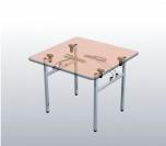 Sklopný stůl H 80x80x73,5 cm (ŠxHxV)