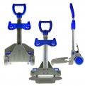 Sklopný vozík pro přepravu zavazadel Go Easy Two modrá