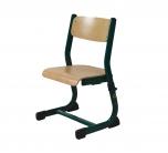 Dětská židle pro děti přeškolního věku Pegas New 2-3 stohovatelná výškově stavitelná - II. jakost - VÝPRODEJ
