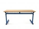 Školní žákovská lavice NERO II NEW výškově stavitelná dvoumístná
